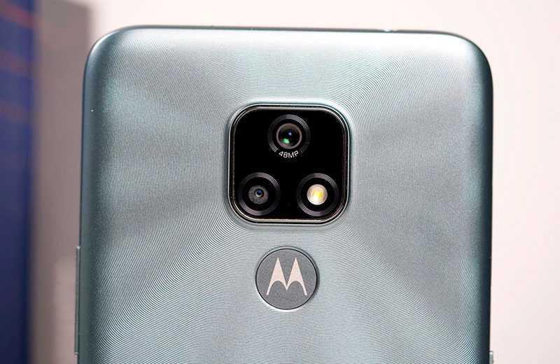 Motorola Moto E7 камера