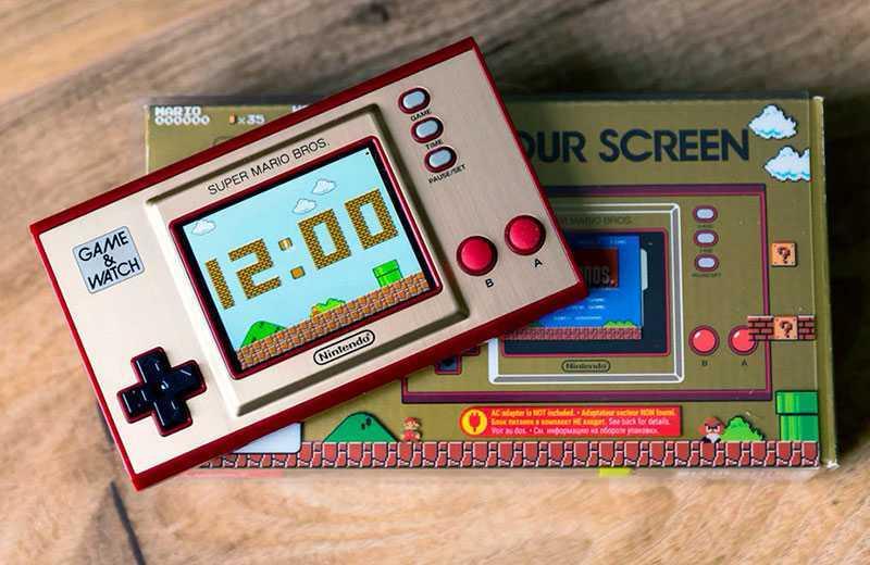 Nintendo Game & Watch: Super Mario Bros консоль