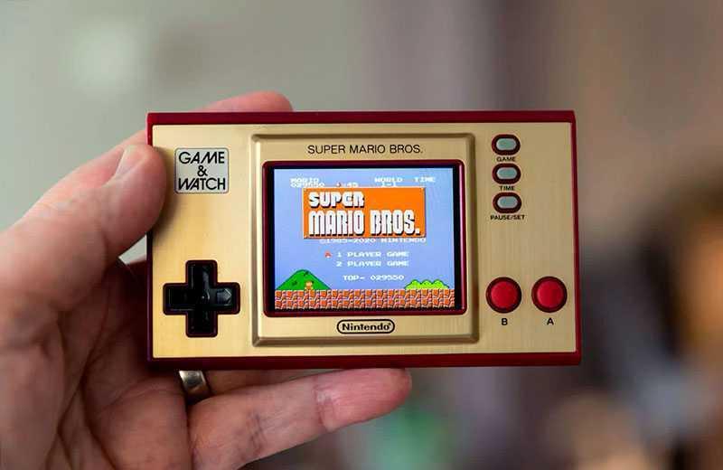 Игры Nintendo Game & Watch: Super Mario Bros