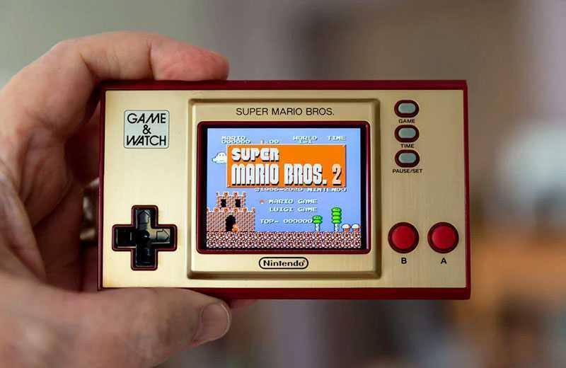 Nintendo Game & Watch: Super Mario Bros игра