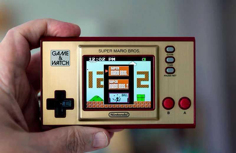 Nintendo Game & Watch: Super Mario Bros автономность