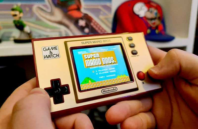 Nintendo Game & Watch: Super Mario Bros на практике