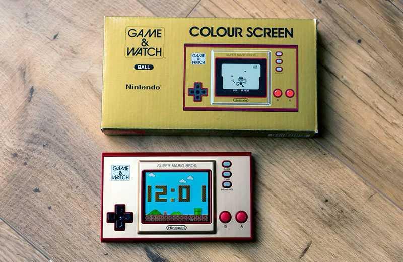 Nintendo Game & Watch: Super Mario Bros отзывы