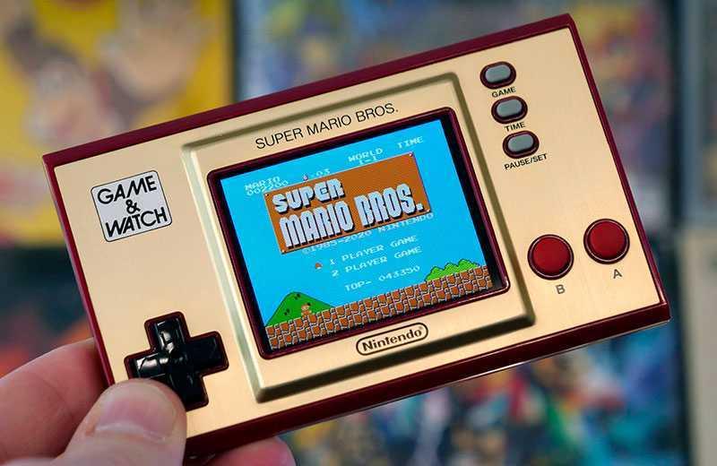 Nintendo Game & Watch: Super Mario Bros экран