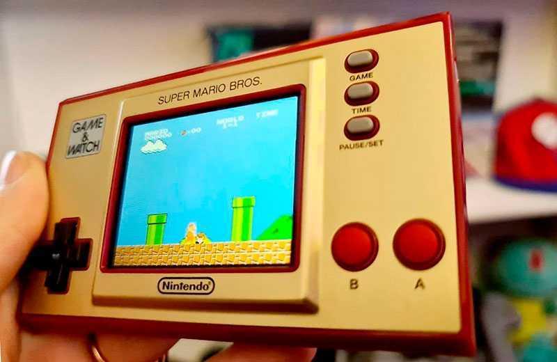 Дисплей Nintendo Game & Watch: Super Mario Bros