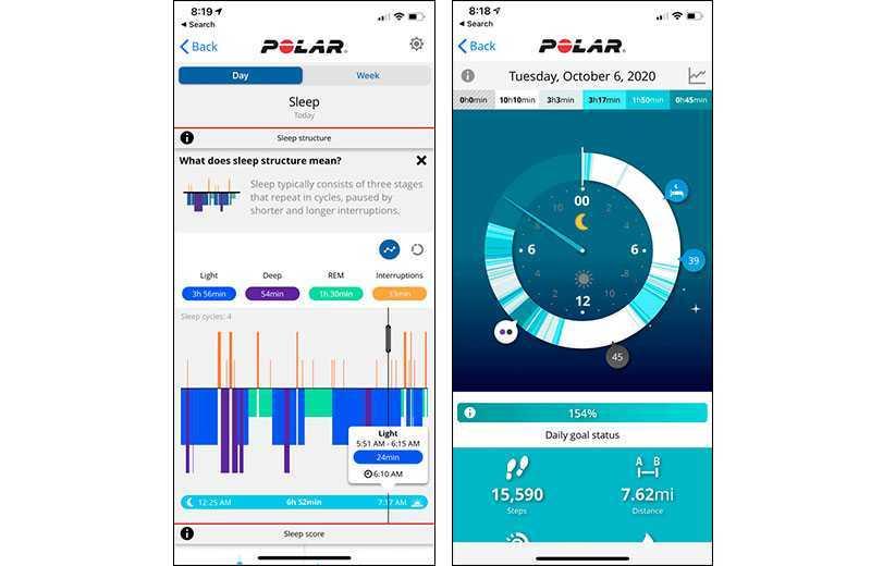 Polar Vantage V2 приложение
