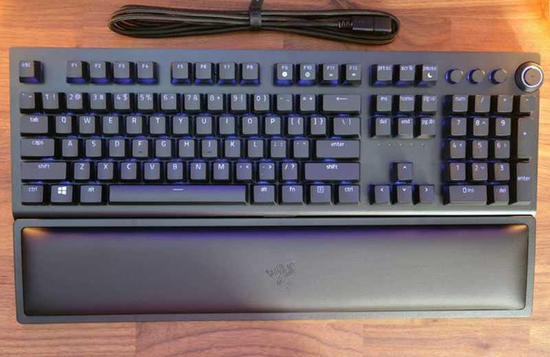 Обзор Razer BlackWidow V3 Pro
