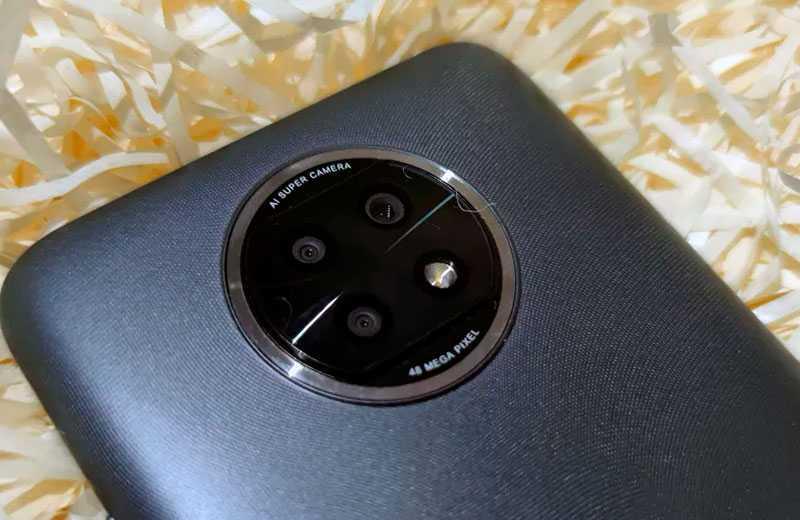 Redmi Note 9T 5G съёмка