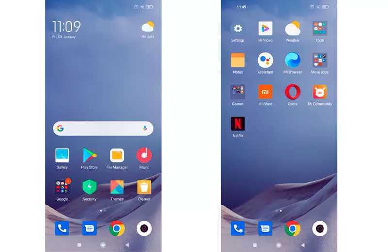 Redmi Note 9T 5G ПО