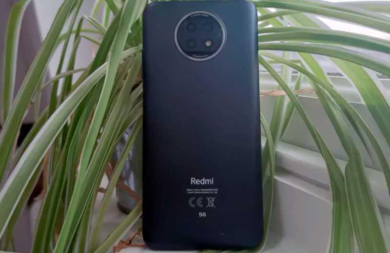 Redmi Note 9T 5G дизайн