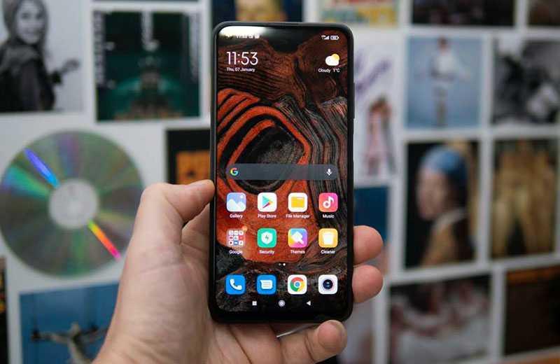 Redmi Note 9T 5G экран