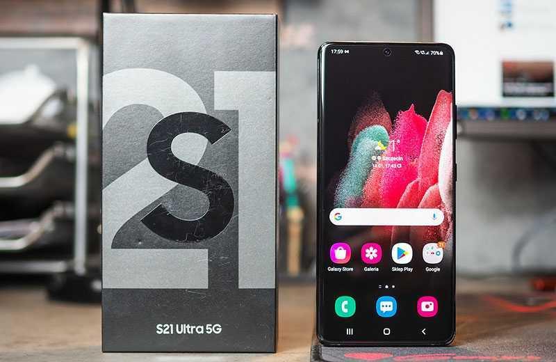 Обзор Samsung Galaxy S21 Ultra 5G