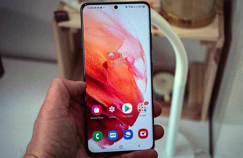Экран Samsung Galaxy S21 Ultra 5G