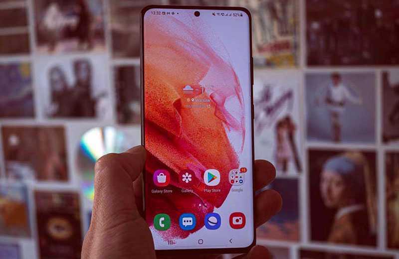 Samsung Galaxy S21 Ultra 5G панель