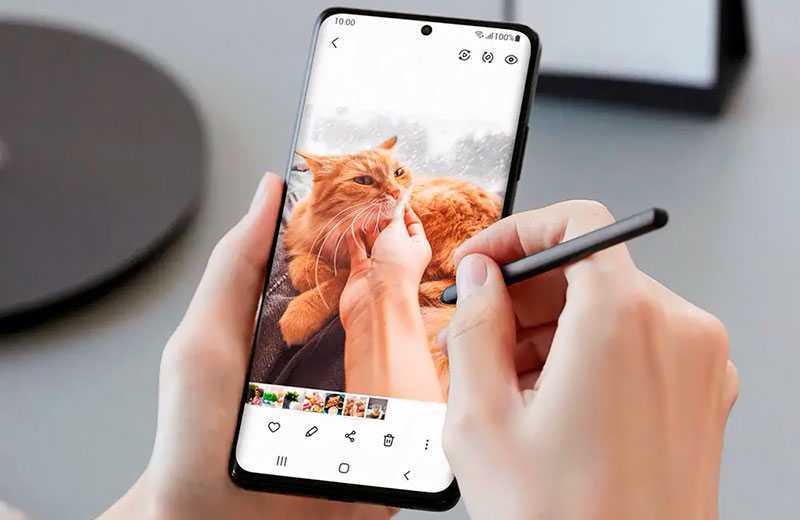 Samsung Galaxy S21 Ultra 5G стилус