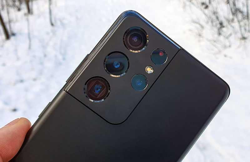 Камеры Samsung Galaxy S21 Ultra 5G