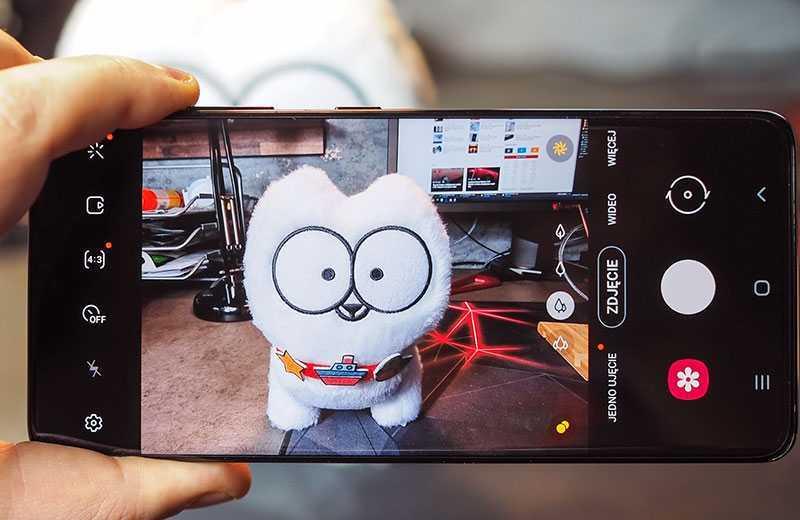 Samsung Galaxy S21 Ultra 5G съёмка