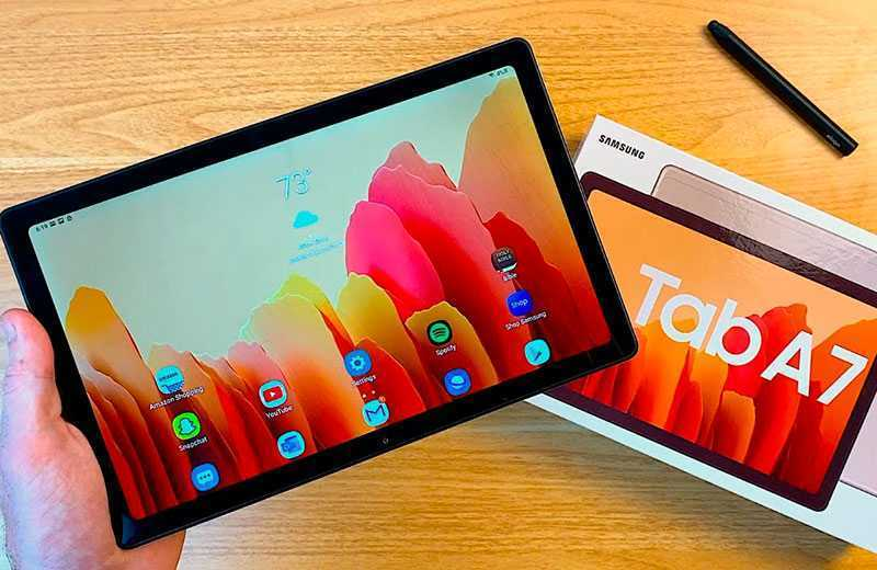 Обзор Samsung Galaxy Tab A7