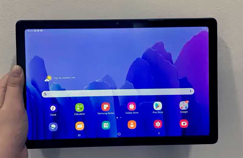 Samsung Galaxy Tab A7 автономность