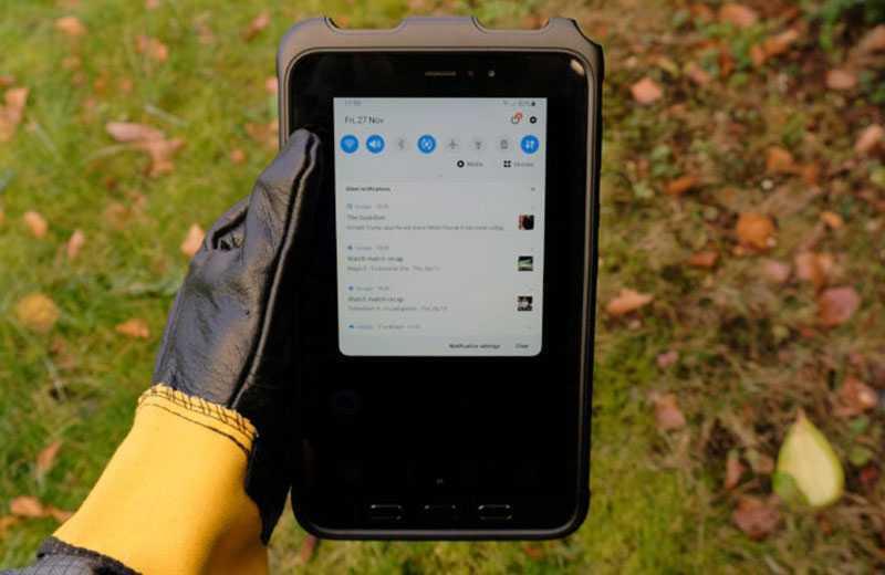 Samsung Galaxy Tab Active 3 дисплей