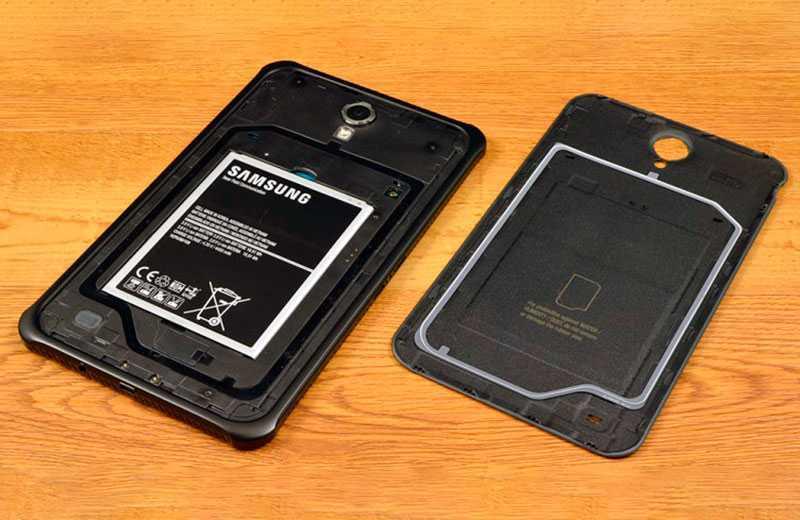 Samsung Galaxy Tab Active 3 съёмная батарея