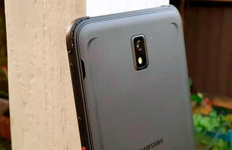 Камера Samsung Galaxy Tab Active 3