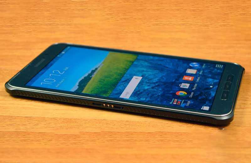 Samsung Galaxy Tab Active 3 сбоку