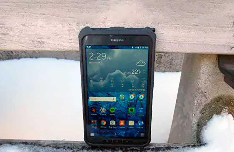 Тест Samsung Galaxy Tab Active 3