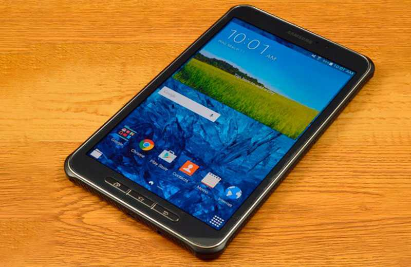 Samsung Galaxy Tab Active 3 экран