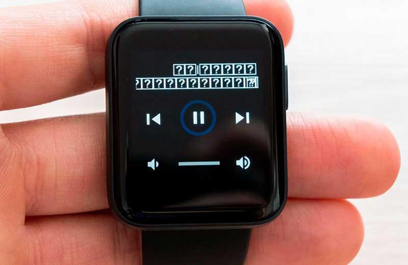 Xiaomi Mi Watch Lite музыка