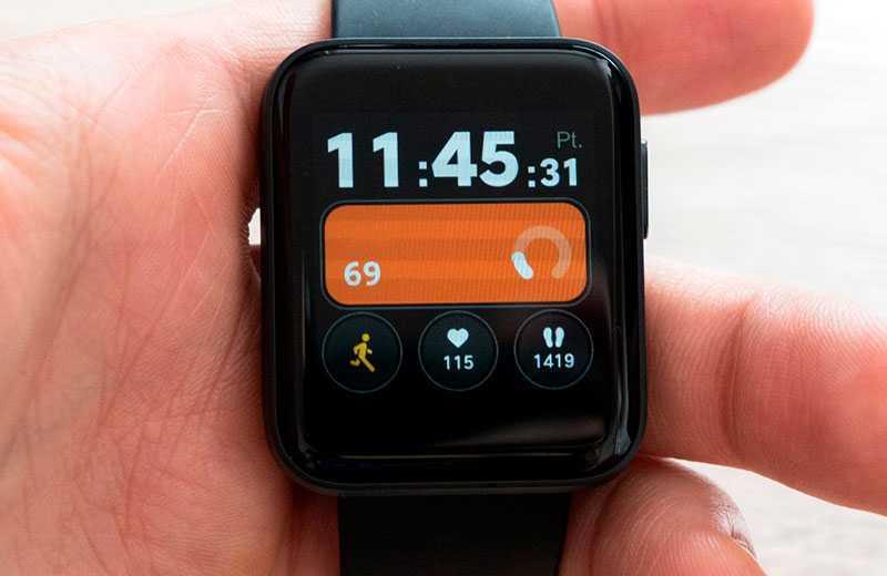 Xiaomi Mi Watch Lite функции
