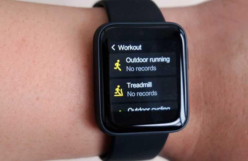 Xiaomi Mi Watch Lite фитнес-трекер