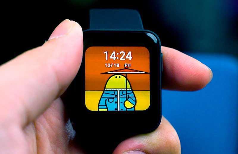 Xiaomi Mi Watch Lite экран