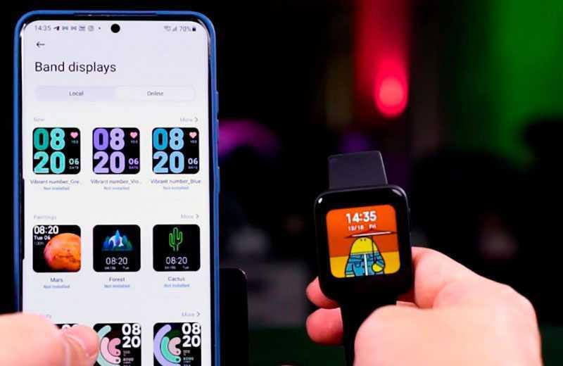 Xiaomi Mi Watch Lite циферблаты
