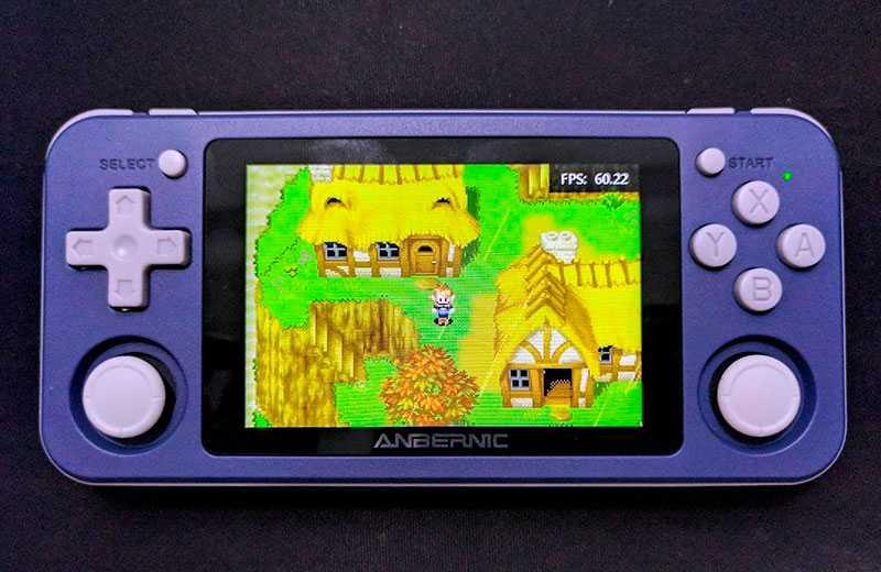 Anbernic RG351P в играх