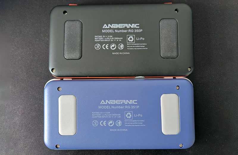 Anbernic RG351P автономность