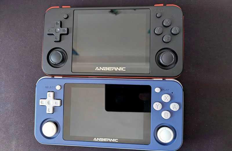 Anbernic RG351P экран