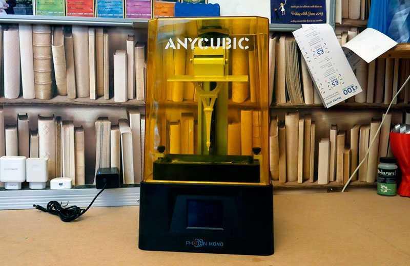 Anycubic Photon Mono в работе