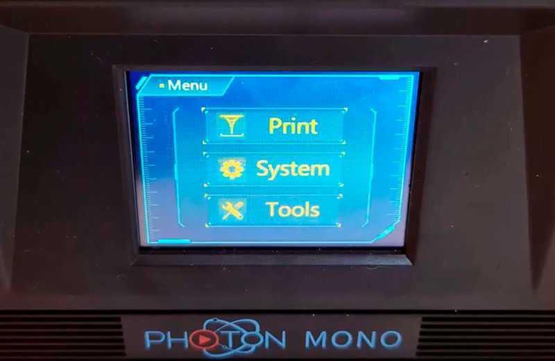 Anycubic Photon Mono 2K экран