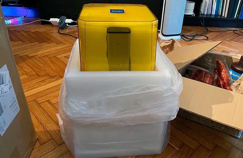 Anycubic Photon Mono 2K из коробки