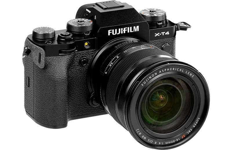 Fujifilm X-T4 – лучшая беззеркалка