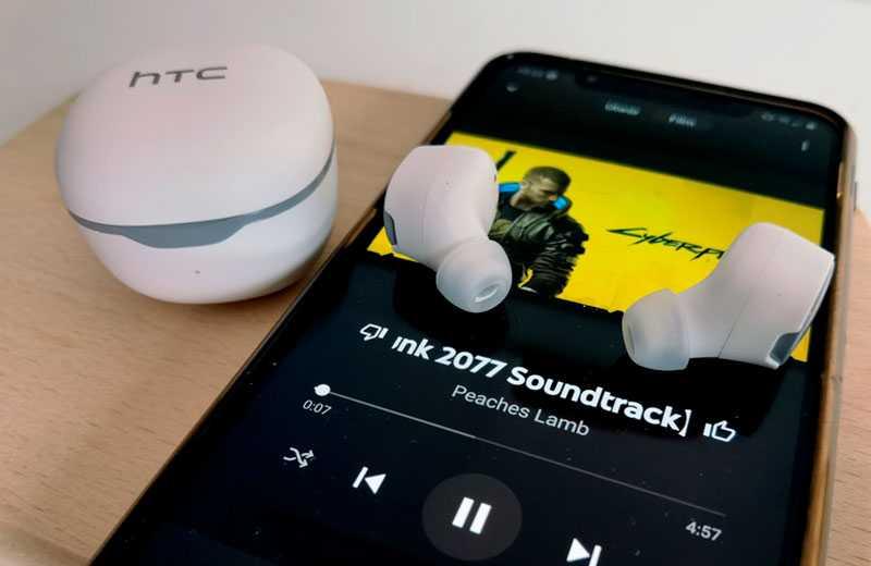 HTC True Wireless качество звука