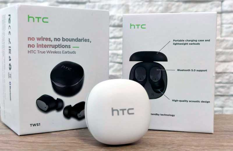 Характеристики HTC True Wireless Earbuds