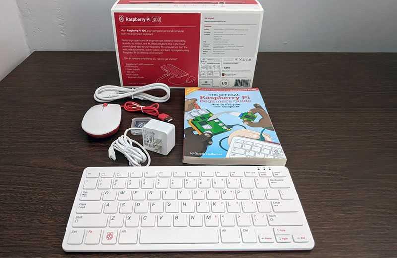 Обзор Raspberry Pi 400
