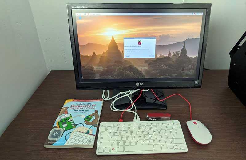 Raspberry Pi 400 ОС
