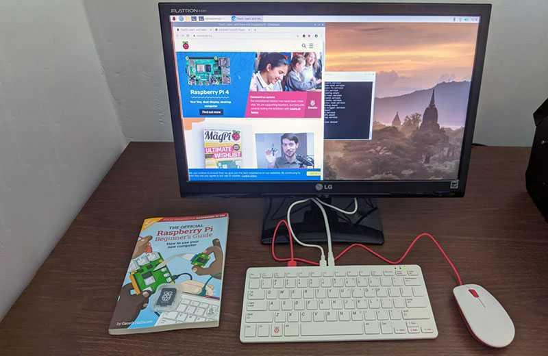 Raspberry Pi 400 ПО