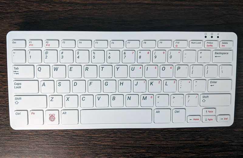 Характеристики Raspberry Pi 400
