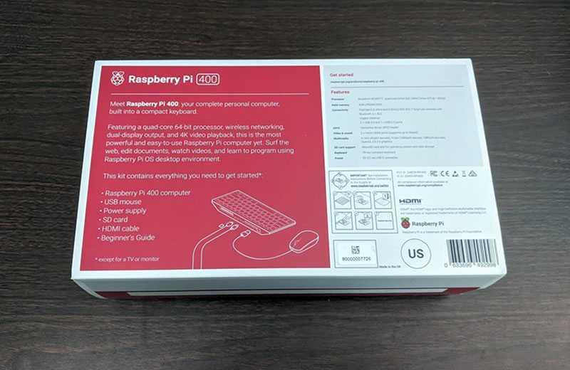Raspberry Pi 400 отзывы
