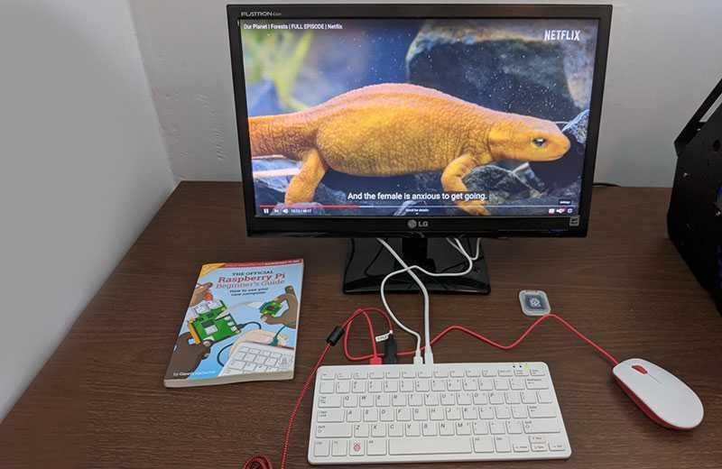 Raspberry Pi 400 тестирование