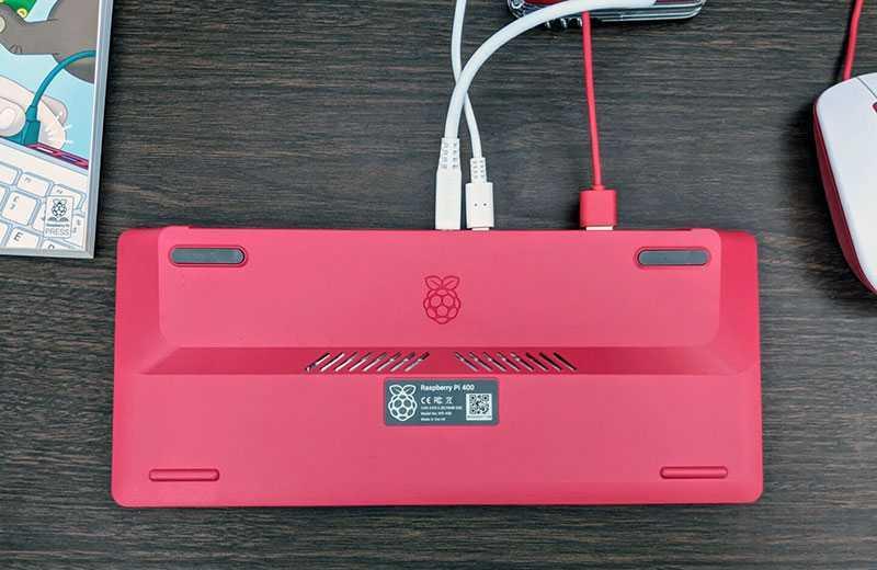 Raspberry Pi 400 подключение